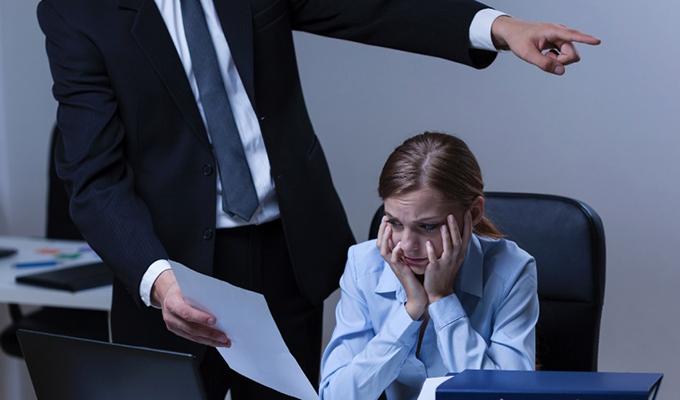 violência no trabalho