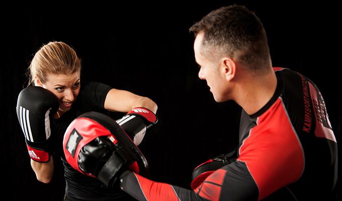 arte marcial e defesa pessoal
