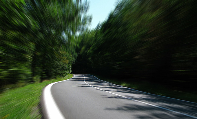 perigo na estrada